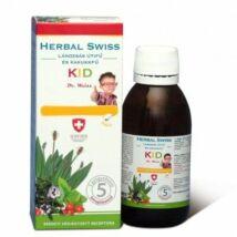 Herbal Swiss kids lándzsás útifű szirup 300ml