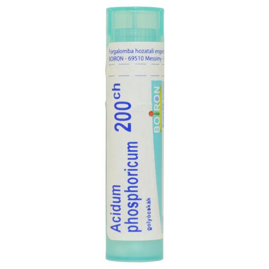 Acidum Phosphoricum Golyócskák 200Ch 4g