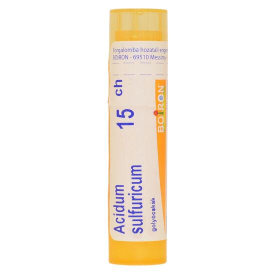 Acidum Sulfuricum  Golyócskák 15CH 4g