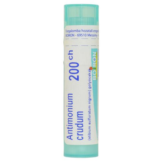 Antimonium Crudum Golyócskák 200CH( Stibium Sulfuricum Nigrum)      4g