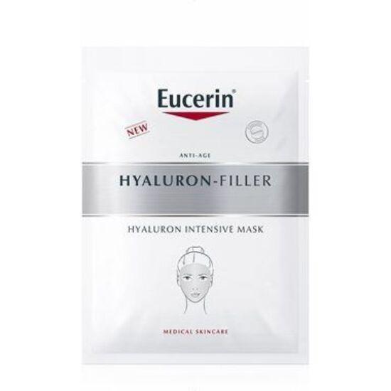 Eucerin Hyaluron-Filler Ráncfeltöltő fátyolmaszk 3+1 db