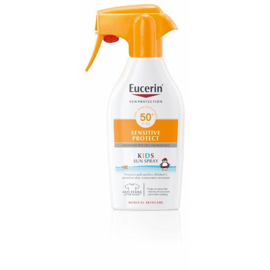 Eucerin Sun Sensitive Protect Gyermek napozó spray FF 50+ 300ml