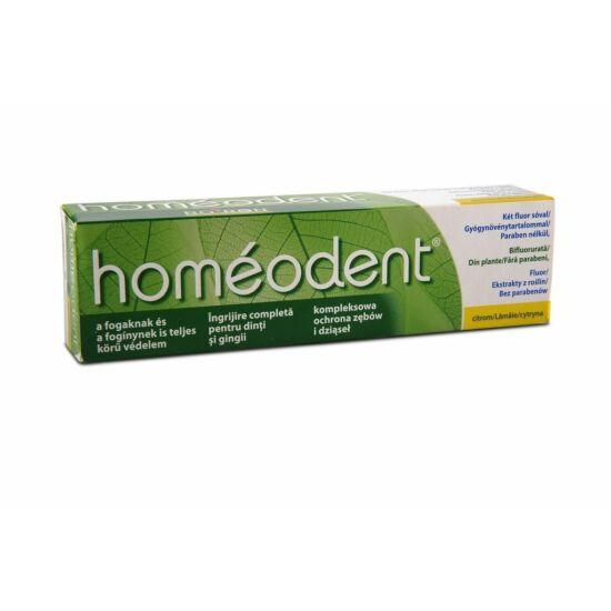 Homeodent fogkrém citrom ízű 75ml