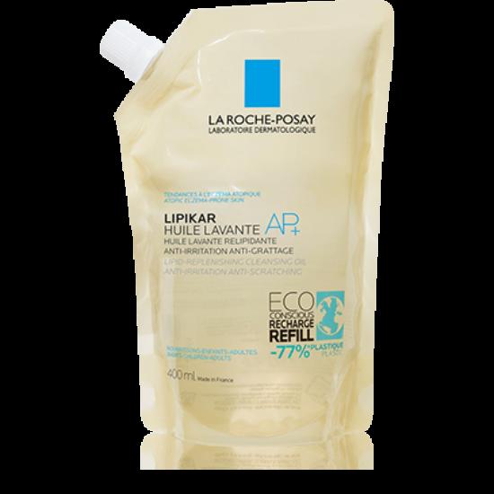 La Roche-Posay Lipikar AP+ tusfürdő olaj utántöltő 400ml