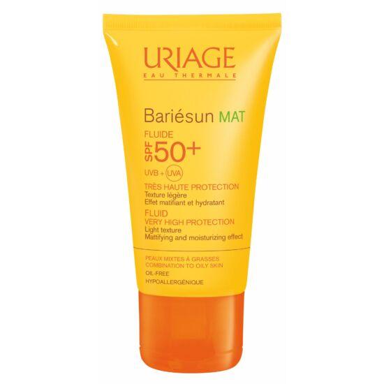 Uriage Bariésun Mat Arckrém Zsíros Bőrre Spf50+ 50 ml