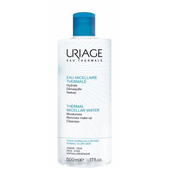 Uriage Micellás Arclemosó Normál/Száraz Bőrre (Kék) 500 ml