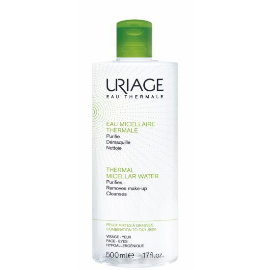 Uriage Micellás Arclemosó Zsíros/Kombinált Bőrre (Zöld) 500 ml