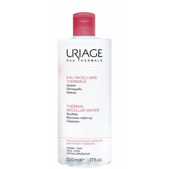 Uriage Micellás Arclemosó Érzékeny/Kipirosodó Bőrre (Piros) 500 ml